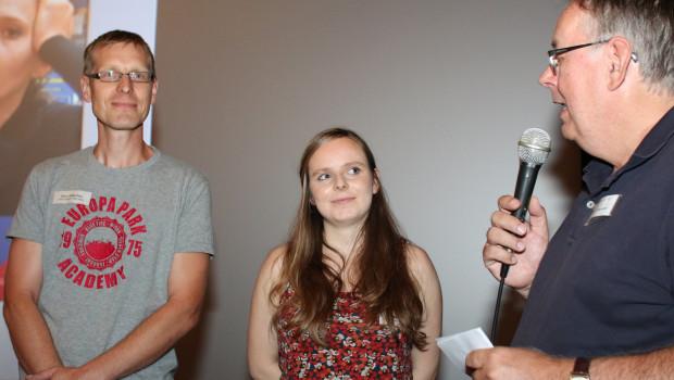 Nach der Vorführung: Marktleiter Sven Köberlein, die Filmemacherin Sabrina Jäger sowie Dr. Joachim Bengelsdorf im Gespräch.