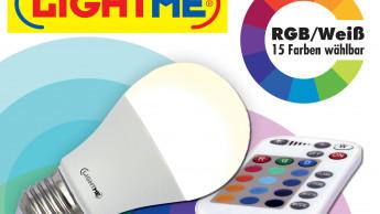 Lichtstarke Farb-LED