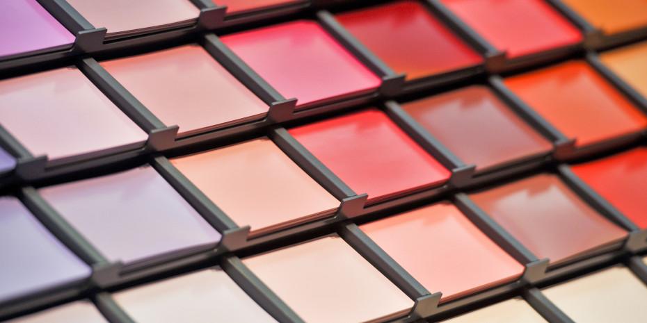 2012 ist die Produktion von Lacken und Farben leicht zurückgegangen.