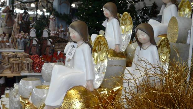 Advent im Gartencenter: Das Weihnachtsgeschäft hat hier bezogen auf das Gesamtjahr eine geringere Bedeutung als in anderen Handelszweigen.
