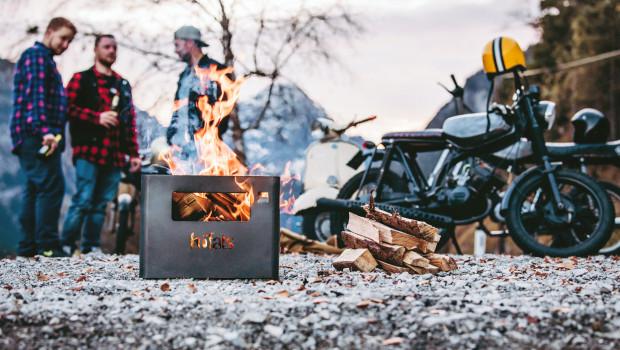 Höfats, Beer Box, Feuerkorb