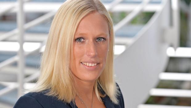 Ann-Christin Telge, Abteilungsleitung Personal in der Hagebau, freut sich über einen dritten Platz im Ranking.