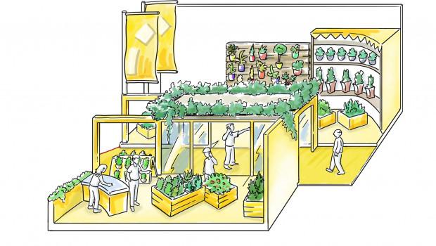 Wie sieht das Gartencenter der Zukunft aus? Darauf will die Hortivation Antworten geben. Innovativer Ladenbau, der Einsatz von Licht und Technik steigern den Umsatz.