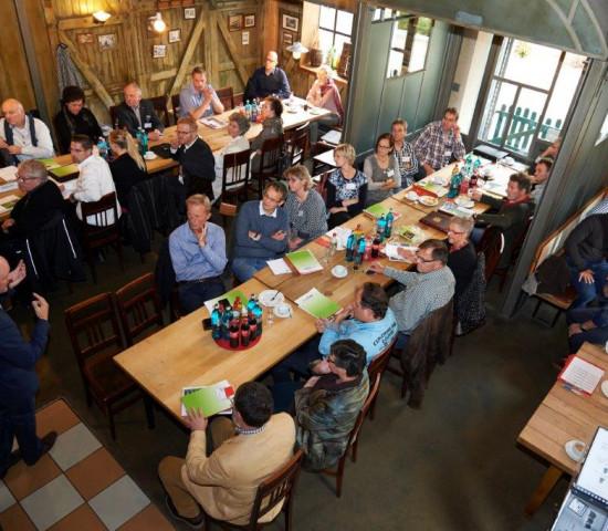 die Jahreshauptversammlung der Ekaflor fand in Nürnberg statt. Foto: Ekaflor/Fotostudio Braune