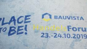 Bauvista Handelsforum mit Fokus auf Nachhaltigkeits-Konzept und Innovativmarkt