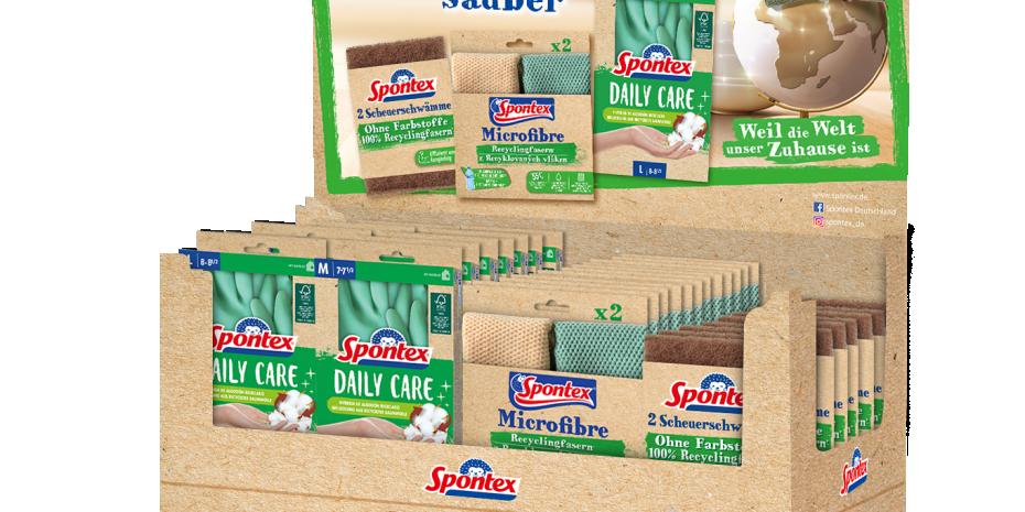 Das Unternehmen bietet eine Auswahl an umweltfreundlich hergestellten und verpackten Produkten an.