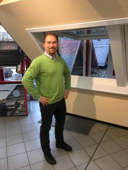 Miersch & Stephan setzt künftig auf die Eurobaustoff. Im Bild Geschäftsführer Arnd Stephan.