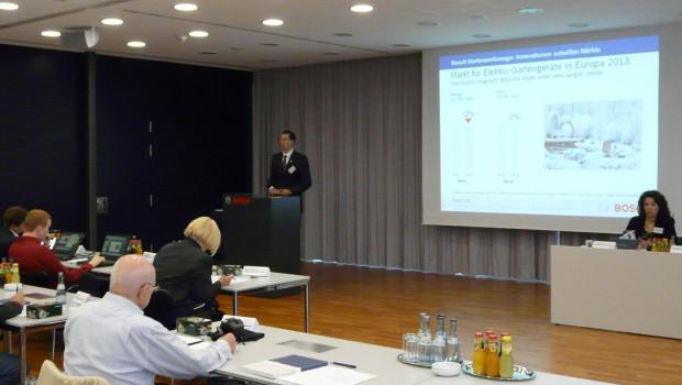 Bosch Garten-Pressekonferenz