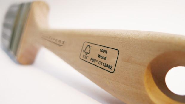 Color Expert, Malerwerkzeug, FSC-zertifiziertes Holz