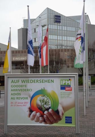 In der Messe Essen findet seit drei Jahrzehnten die IPM statt.