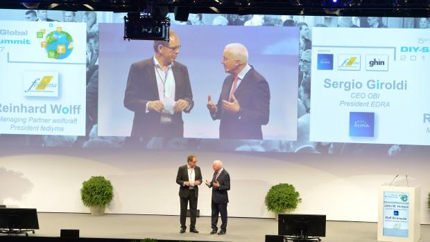 John Herbert (r.) und Ralf Rahmede, die Geschäftsführer von Edra/Ghin und Fediyma, werden in Barcelona wieder durchs Programm führen.