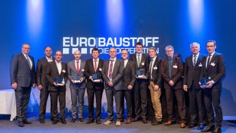 Eurobaustoff kürte die Lieferanten 2016
