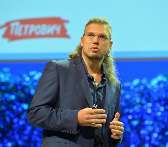 Igor Kolynin stellte den neuen Digital Room von Petrovich vor.