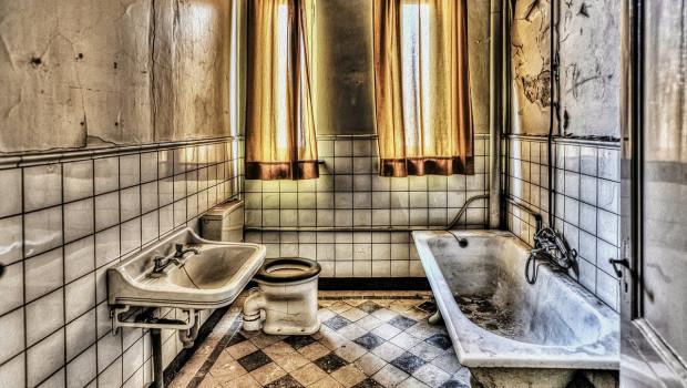 Screwfix sucht das  furchterregendste Badezimmer - und lässt es renovieren. Bild: Picasa