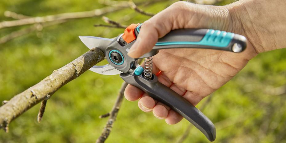 Die Gartenschere Expert Cut ist eine Neuentwicklung aus dem Kompetenzzentrum Niederstotzingen.