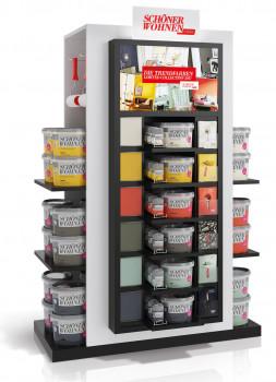 Schöner Wohnen Farbe, Display mit interaktivem Touch-Screen