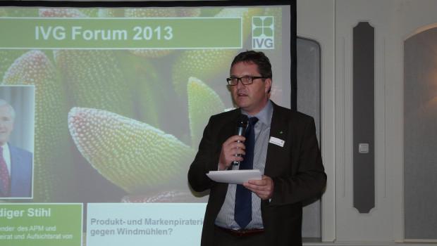 IVG-Geschäftsführer Johannes Welsch möchte das neue IVG-Gartenforum als Veranstaltung auch für den Fachhandel konzipieren, wie er in Berlin betonte.