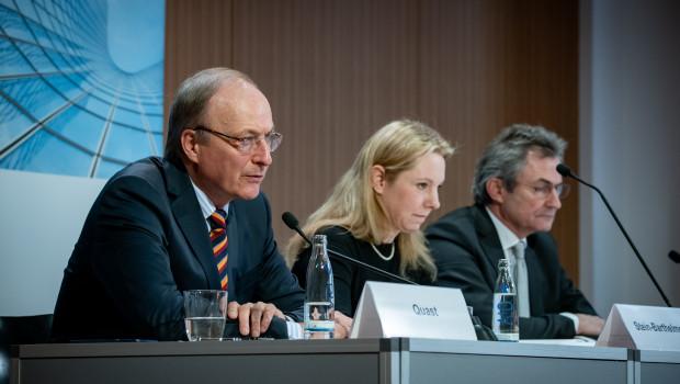 Präsidenten Quast (l.) und Hübner (r.) auf der gemeinsamen Jahresabschluss-Pressekonferenz in Berlin. [Bild: ZDB]