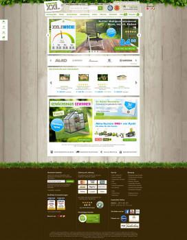 Der Online-Shop GartenXXL bietet ein Sortiment von rund 40.000 Artikeln an.