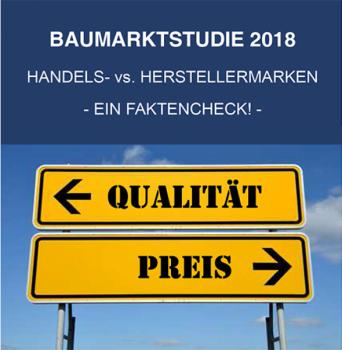Die neue Baumarktstudie 2018 von Konzept & Markt und Dähne Verlag ist aktuell erschienen.
