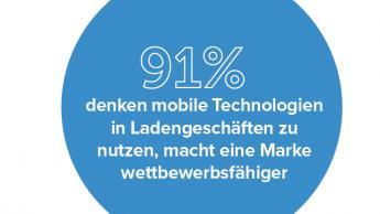 Der Einzelhandel setzt auf mobile Technologien