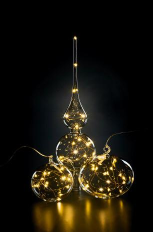 Krinner, Tree Topper, Light Balls