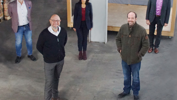 Das Team aus (von links) Johannes Häringslack, Detlef Schulz, Sabine Ment und Kai Schmidt hielt bereits ein erstes Treffen ab.