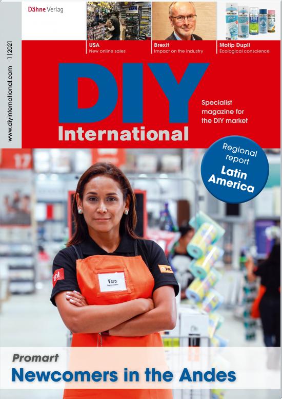 Die aktuelle Ausgabe von DIY International