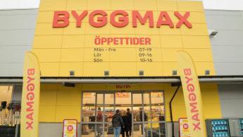 Byggmax-Gruppe meldet Plus von 9 Prozent im dritten Quartal