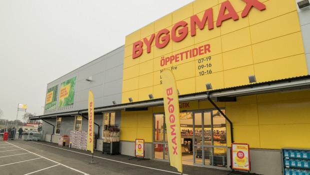 Das Umsatzplus der Byggmax-Märkte im zweiten Quartal ist in erster Linie auf Neueröffnungen zurückzuführen.