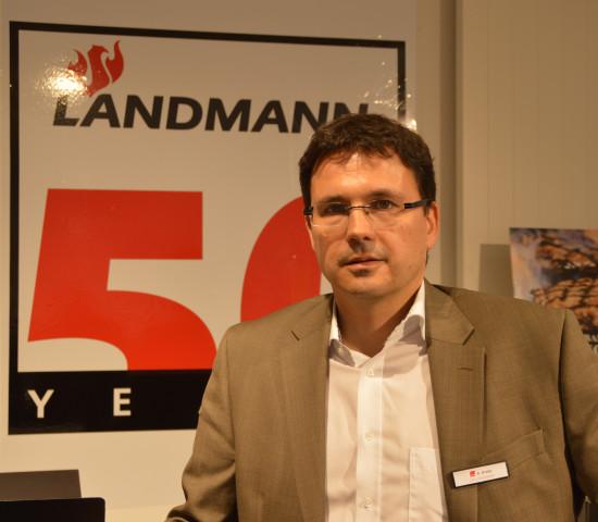 Noch auf der Frühjahrshausmesse hatte Andreas Krebs die Aktivitäten zum 50. Firmenjubiläum erläutert.