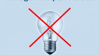 Nächste Stufe des Verbotes von Halogenlampen in Kraft getreten