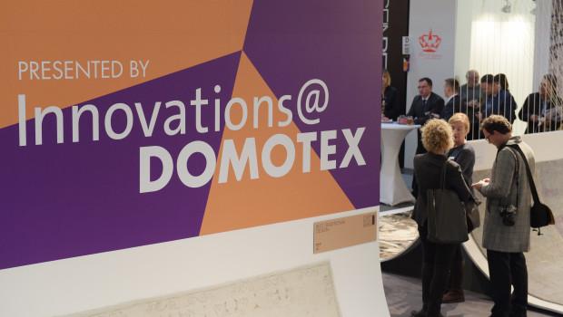 Das Bewerbungsverfahren für Innovations@Domotex 2016 startet Mitte August.