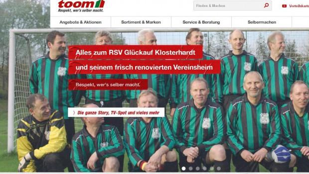Toom Baumarkt startet mit Sport Bild einen Modernisierungswettbewerb für Sportvereine.