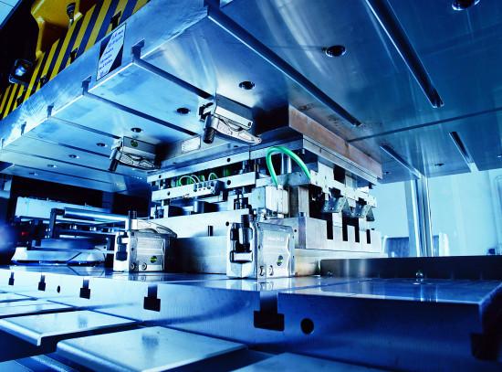 Die Ende 2018 in Betrieb genommene Stanzanlage verfügt über eine Produktionskapazität von mehr als drei Millionen Teilen pro Jahr.