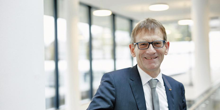 Dr. Joachim Schätzle, Bereichsleiter Forschung, Technologietransfer und Vorentwicklung, Unternehmensgruppe Fischer