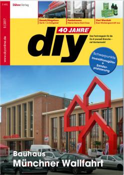 Das gerade erschienene Mai-Heft von diy befasst sich u. a. mit der riesigen Bauhaus-Eröffnung in München.