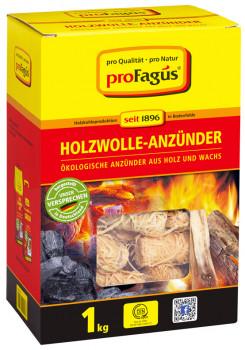 proFagus, Holzwolle-Anzünder