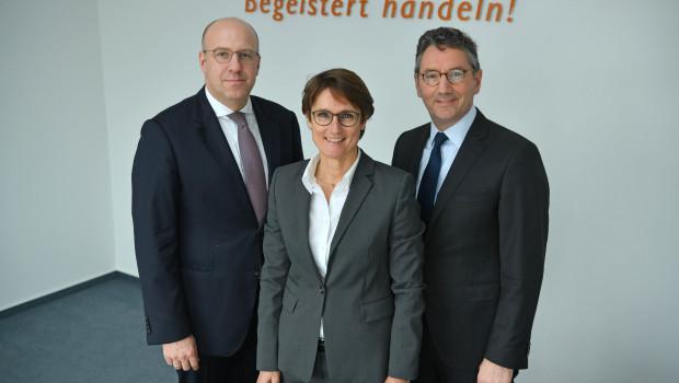 Da waren's nur noch drei: Den EK-Vorstand bilden jetzt der Vorsitzende Franz-Josef Hasebrink (r.) sowie Martin Richrath und Susanne Sorg.