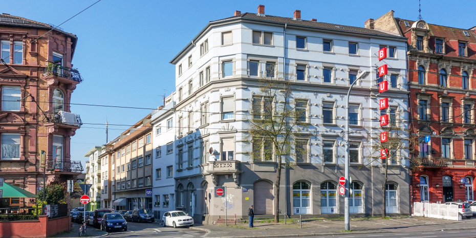 Der Ursprung: Der erste Bauhaus direkt in Mannheims Innenstadt.