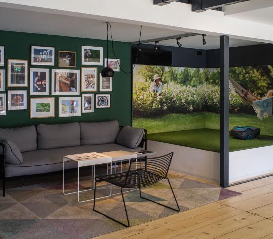 Eine dauerhafte Plattform zur Markenpräsentation und Inspiration: Das Markenzentrum realisiert Gartenträume und bietet Lösungen rund um Garten und Lifestyle.