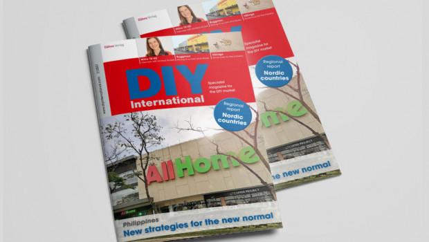 Mit einem Bericht aus den Philippinen als Titelgeschichte ist jetzt die neue Ausgabe von DIY International erschienen.