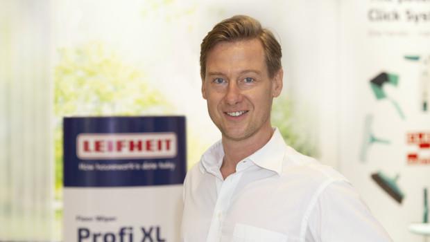 """""""Angesichts des erhöhten Hygienebewusstseins wurde unser Profi-Bodenwischsystem von den Verbrauchern stark nachgefragt"""", berichtet Leifheit-Chef Henner Rinsche."""