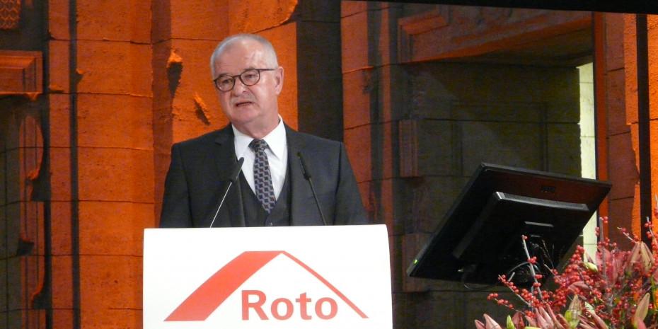 Dr. Eckhard Keill, Vorstandsvorsitzender Roto Frank AG