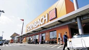 Hornbach meldet anhaltend starken Wachstumstrend