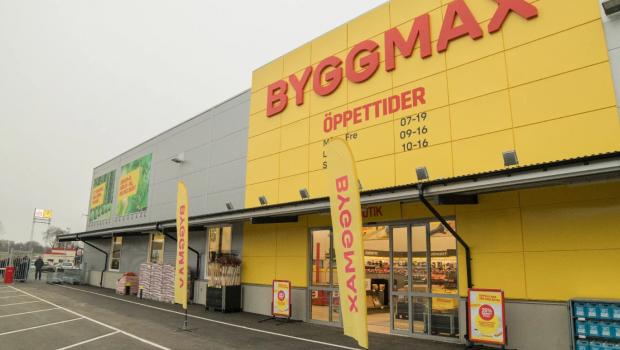 Flächenbereinigt und in lokaler Währung sind die Byggmax-Umsätze im ersten Quartal 2020 um 20,7 Prozent gestiegen.