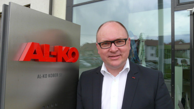 """""""Der neue Name entspricht exakt dem modernen Selbstverständnis unserer Marke"""": Wolfgang Hergeth, Geschäftsführer der Al-Ko Geräte GmbH."""