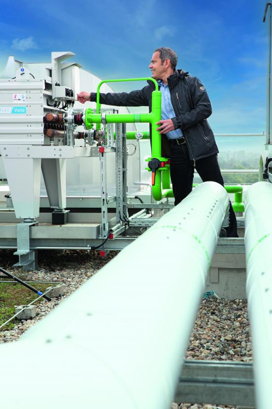 Im Jahr 2020 wurde eine Kraft-Wärme-Kopplungs-Anlage im Tesa-Headquarter in Betrieb genommen.