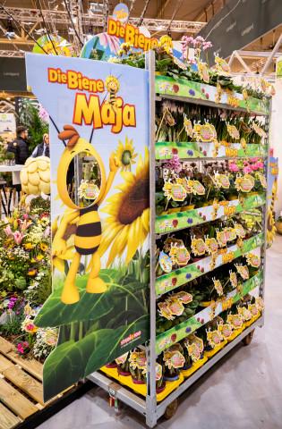 """Die Lizenzkooperation """"Die Biene Maja"""" wird von Landgard angeboten."""