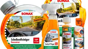 Sonax sorgt für tropische Atmosphäre